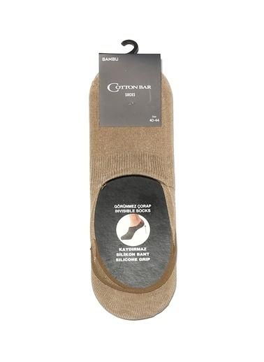 Cotton Bar Çorap Bej